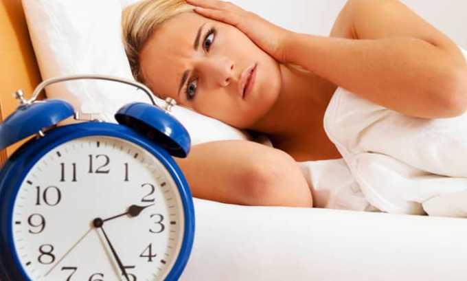 Во время приема Флексида не исключены проблемы со сном и тревожные состояния