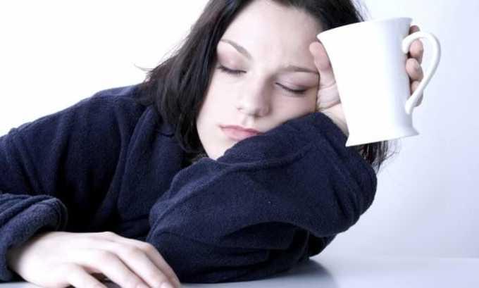 При превышении рекомендуемой дозы Норфлоксацина возникает сонливость