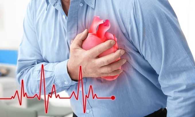 Раствор и таблетки Максиган не применяются при хронической недостаточности сердца
