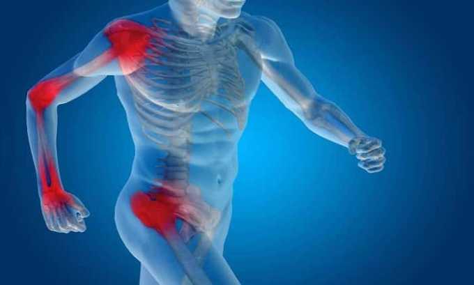 Препарат помогает при поражение мышц