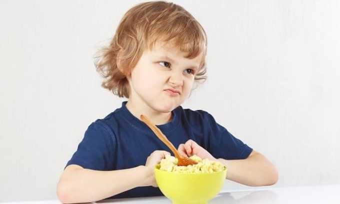 Среди наиболее часто встречаемых реакций наблюдается снижение аппетита