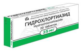 Результаты применения Гидрохлортиазида при патологиях почек