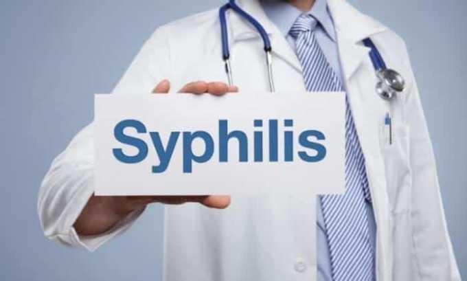 Мазь Кортизон нельзя применять при сифилисе