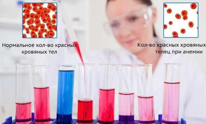 Цефоперазон Сульбактам провоцирует появление понижения уровня гемоглобина