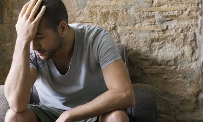 Очень часто лекарство рекомендуют при депрессивном состоянии