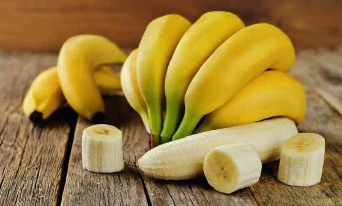 Во время лечения в рацион пациента должны входить бананы