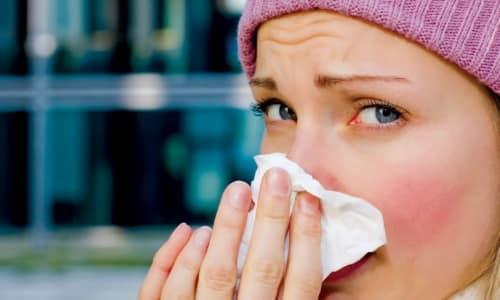 Вероятность заражения увеличивается при простуде