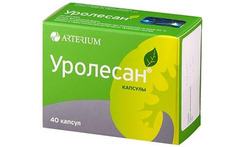 Уролесан Это растительное средство, которое часто применяется для лечения цистита. Выпускается в растворе. Находится во флаконе из темного стекла объемом 25 мл