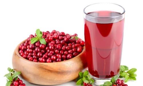 Клюквенный морс - напиток с мочегонным эффектом, употребляемый при цистите и уретрите