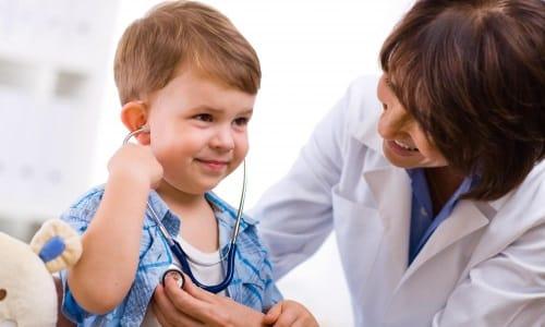 Антибактериальные средства малышам должен назначать врач