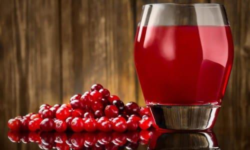 Имеются положительные отзывы о действии клюквенного сока при хроническом цистите