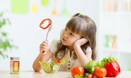 Кроме основного лечения цистита детям, как и взрослым, показано соблюдение специальной диеты