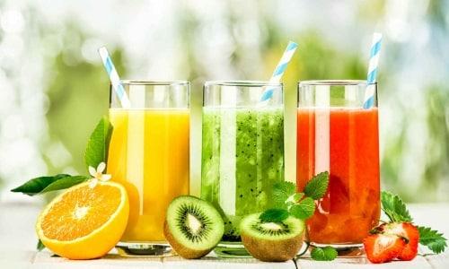 В питье должны содержаться витамины, минералы и другие полезные вещества
