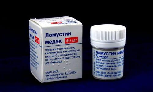 Ломустин (на латинском Lomustinum) — средство, применяемое для лечения различных видов опухолей