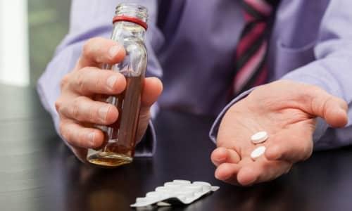 Употреблять алкоголь на фоне лечения препаратами из группы НПВС запрещено