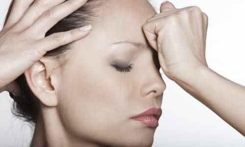 В период лечения сосудорасширяющим средством есть риск появления головной боли
