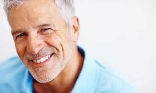 Для мужчин в возрасте доза должна быть максимально снижена