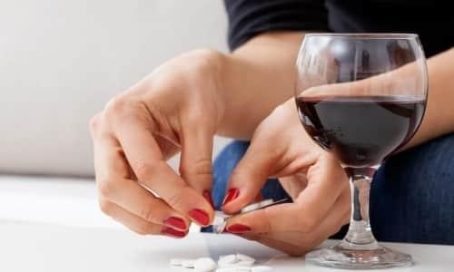 Аспирин просто облегчает общее состояние при похмелье