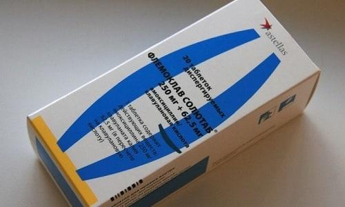 При заболеваниях почек и мочевыводящих путей для избавления от неприятных симптомов используют Флемоклав Солютаб 250