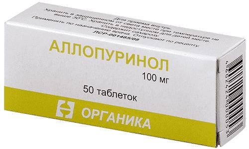 Под воздействием Аллопуринола снижается концентрация мочевой кислоты в биологических жидкостях (крови, моче)