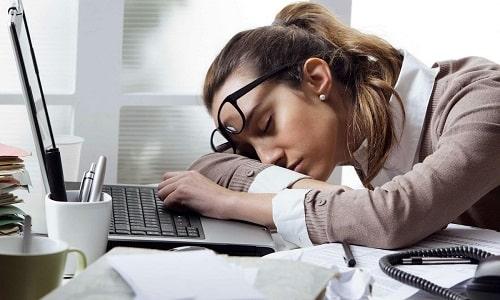 Сонливость является симптомом передозировки