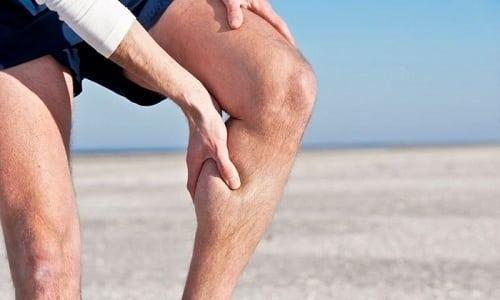 Препарат показан при болевых ощущениях, возникающих после травм мышц