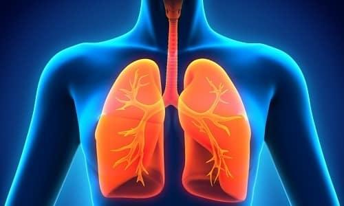 Медикамент назначают при инфекциях дыхательных путей