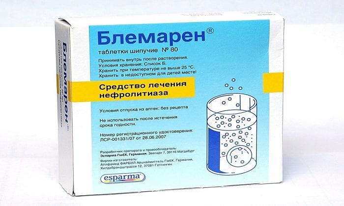 Подробная инструкция по применению препарата Блемарен с отзывами покупателей