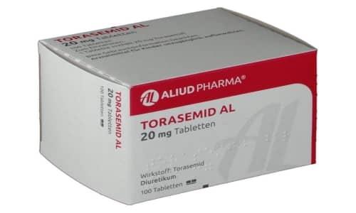 Торасемид - мочегонный препарат из группы петлевых диуретиков