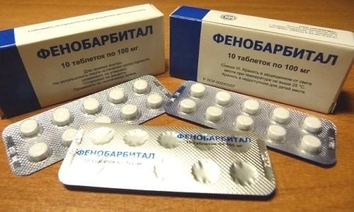 Под влиянием Фенобарбитала эффективность Дротаверина возрастает