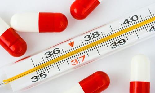 Действие препарата Ибупрофен связано с избавлением от жара