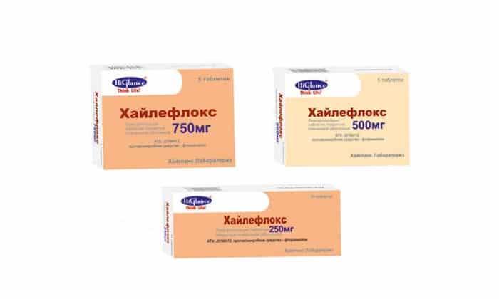 Хайлефлокс 750 мг при простатите