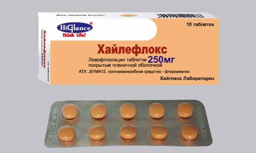 Хайлефлокс применяется в лечении различных инфекционных процессов