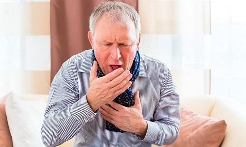 Передозировка препаратом вызывает кашель