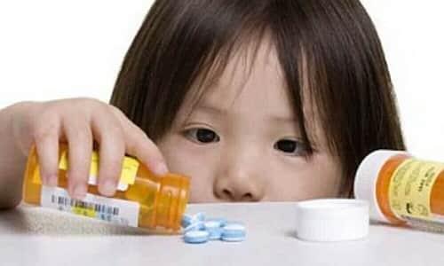Следует ограничить доступ детей к препарату