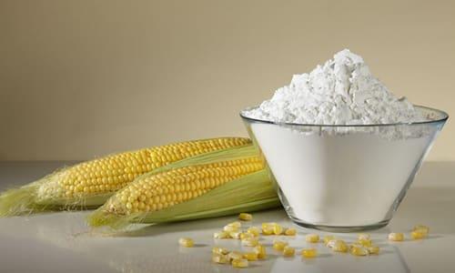 В состав препарата входит кукурузный крахмал