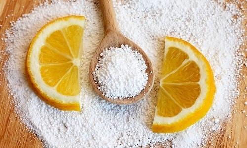 Растворимые таблетки по 0,5 г активного вещества - парацетамола также содержат лимонную кислоту
