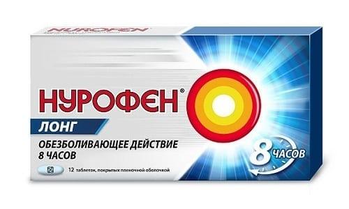 Препарат Нурофен Лонг эффективен при болевом синдроме и воспалении различного происхождения