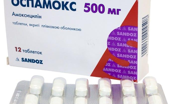 Оспамокс - инструкция, цена в аптеках, аналоги