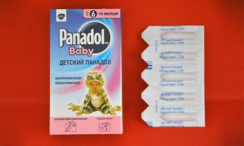 Существуют суппозитории Панадол на основе парацетамола