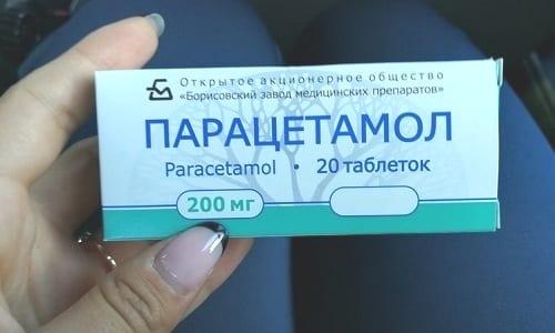В сочетании с парацетамолом лечение должно проходить не более 5 дней