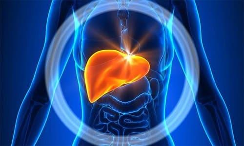 Препарат в комплексной терапии с метронидазолом не назначают при заболеваниях печени