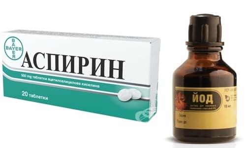 Аспирин и йод - эффективное и дешевое народное средство от косточек на ногах и других проявлений подагры