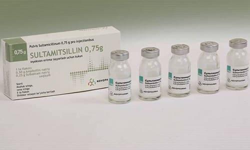 Аналогом средства является Сультамициллин