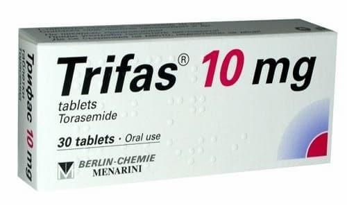 ТРИФАС 10 - инструкция по применению, цена, отзывы и аналоги