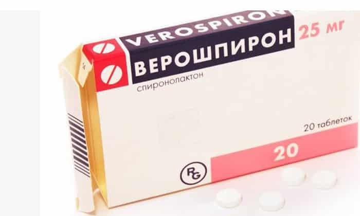 Верошпирон – инструкция по применению, показания, дозы, отзывы