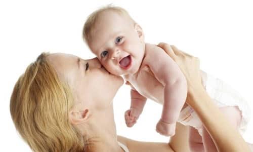 Виферон разрешается детям до года, а также грудничкам