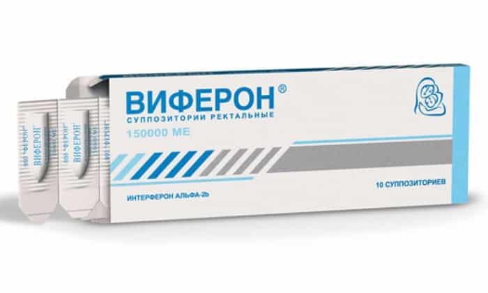Виферон при лечении простатита