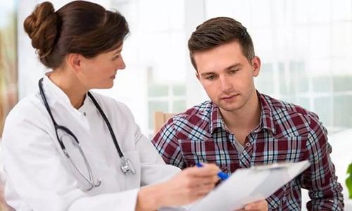 Решение о длительности терапии спиронолактоном принимает врач