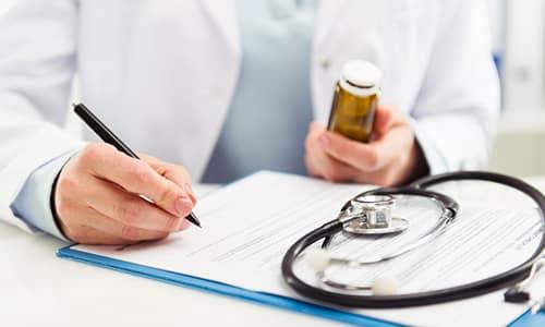 Курс лечения определяется врачом